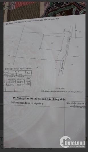 Đất Hóc Môn 310.5m² full thổ cư chỉ 4.6 tỷ, SHR, cần bán gấp để trả nợ ngân