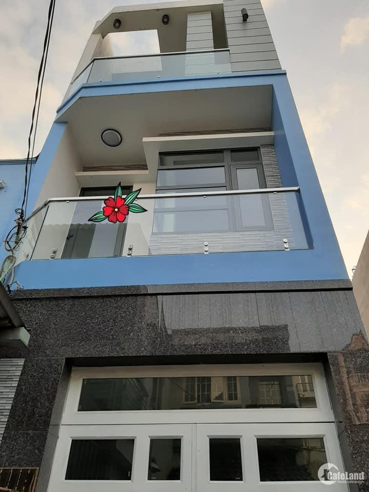 Hẻm 3m, Quang Trung Phường 8 Quận Gò Vấp  33m2, 3 tầng, Giá chỉ 3.8 tỷ .