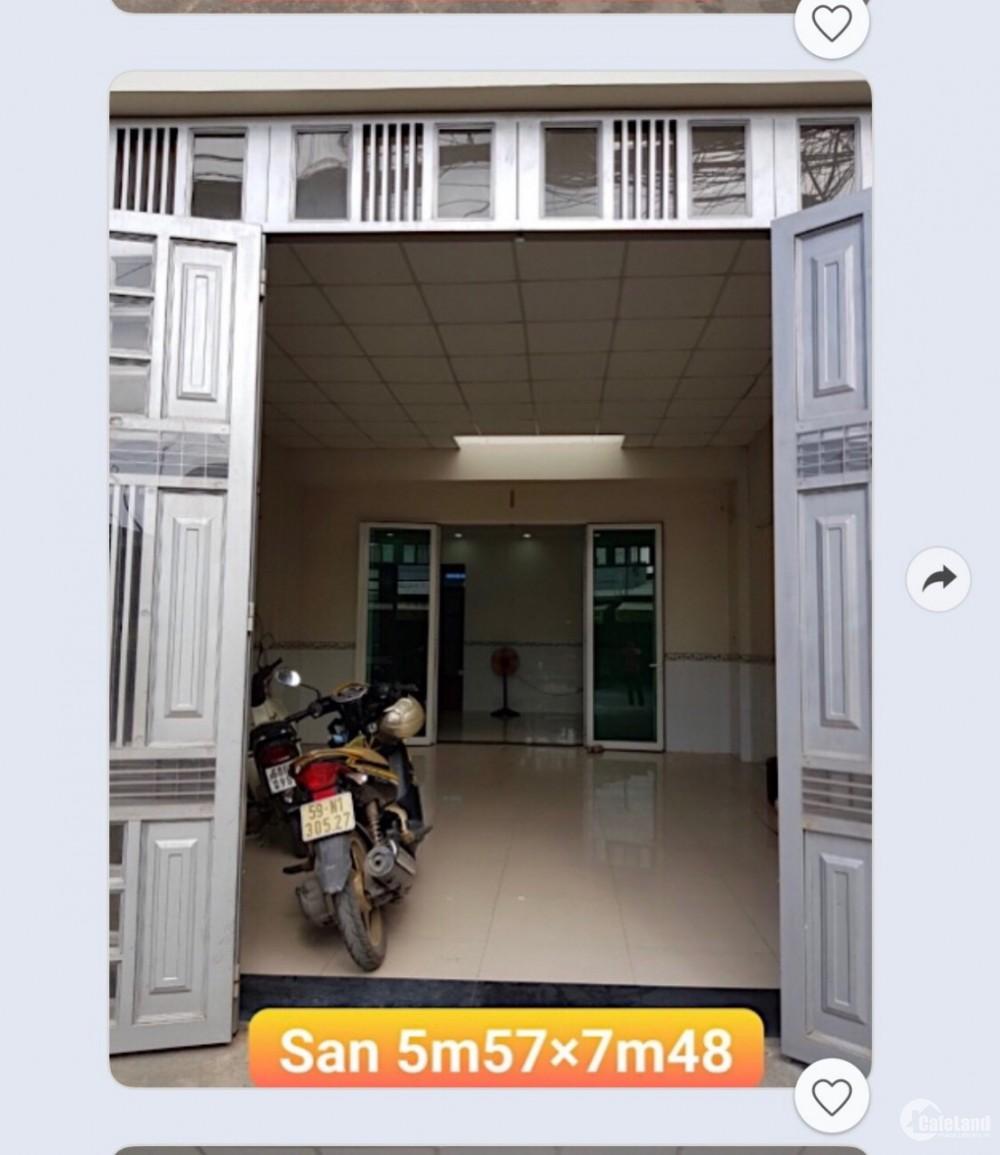 Nhà mặt tiền, nở hậu tài lộc 120m2, 2PN Tân Xuân, Hóc Môn, giá 4tỷ8