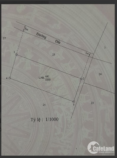 Lô đất mặt tiền Lý Nhơn, Cần Giờ giá 1.35 tỷ, SHR, Bao Sang Tên.