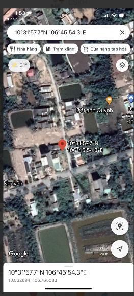 Bán đất ở đã có thổ cư 400m² tại đường Lý Nhơn, Xã Lý Nhơn, Huyện Cần Giờ, TP.