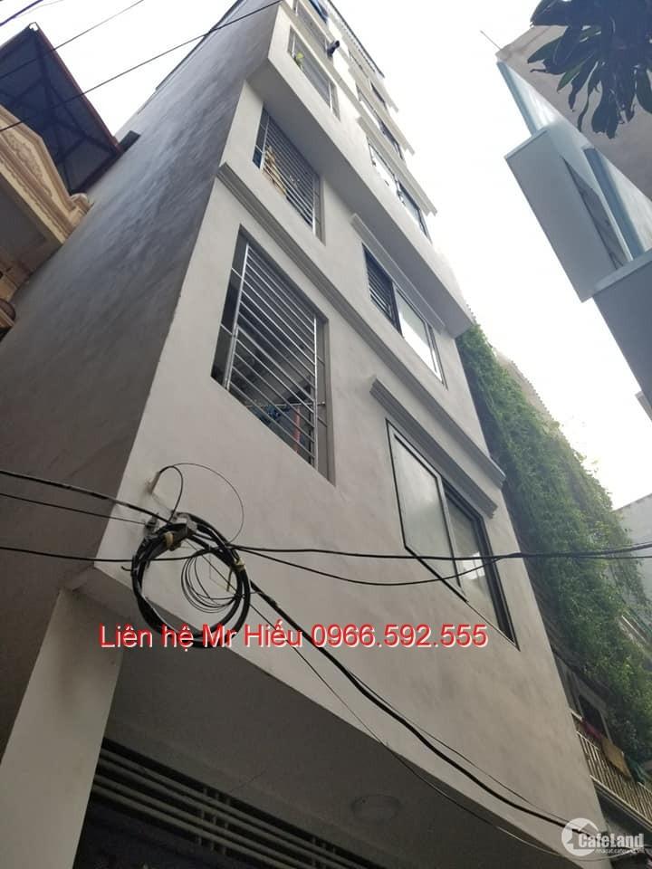 Cần Bán Nhà Quan Nhân , chung cư mini thang máy dòng tiền 60tr/ tháng