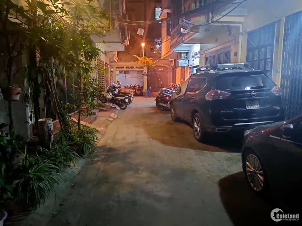 Bán đất tặng nhà C4 Kim Giang, Ô tô tránh, phù hợp xây VP, KD, ở sướng, 60m2,