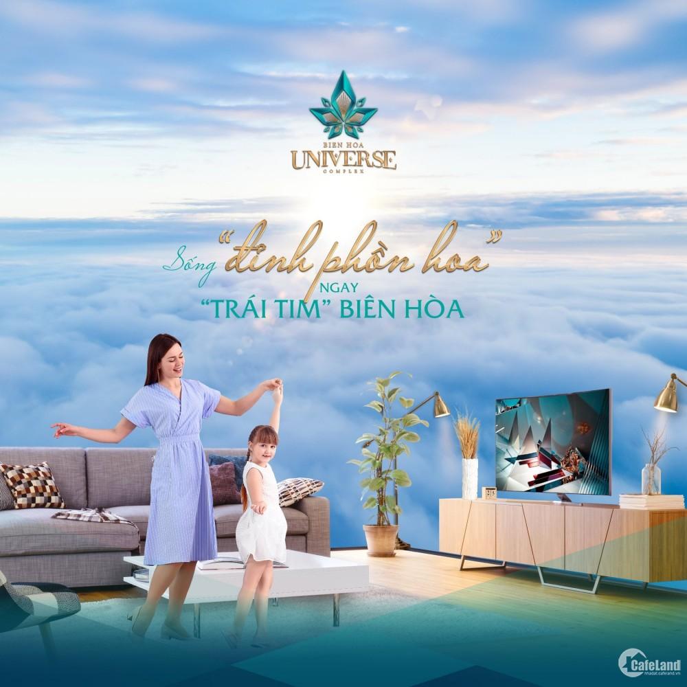 Cơ hộ cho vợ chồng trẻ sở hữu căn hộ đẳng cấp tại Tp Biên Hòa chỉ 300 tiệu