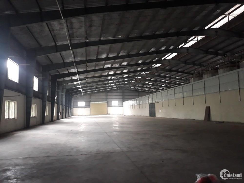 Cho thuê 1700m2 xưởng KCN Đại Đồng, xưởng 1 tầng chỉ 2,7$/m2