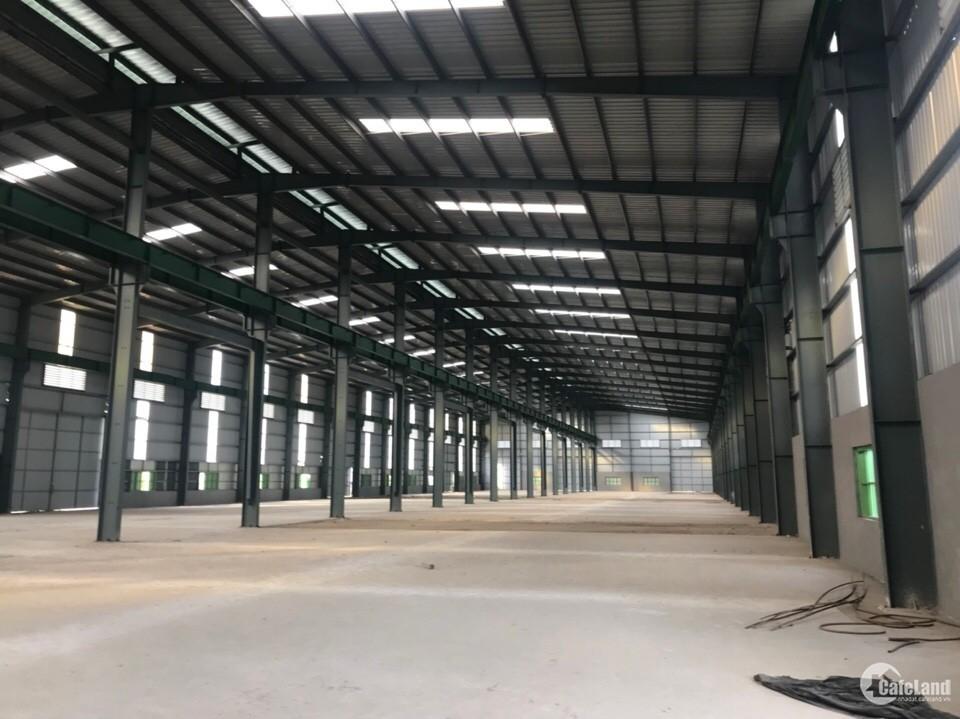 Cho thuê kho xưởng DT 800m2 tại khu CN Nam Từ Liêm, Hà Nội