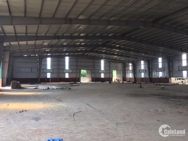 Cho thuê kho xưởng DT 1700m2 Cụm CN Phú Minh (Trại Gà), Bắc Từ Liêm, Hà Nội