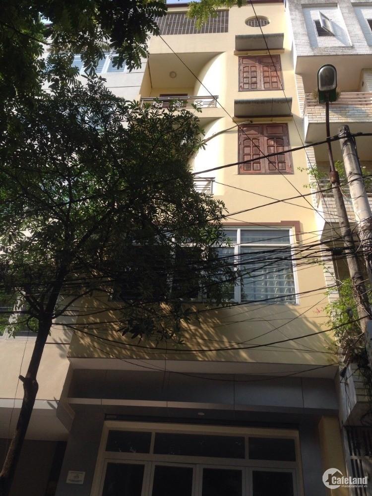 Cho thuê nhà 5 tầng phố Đồng Me, Mễ Trì, đường 17m, tiện làm VP Cty