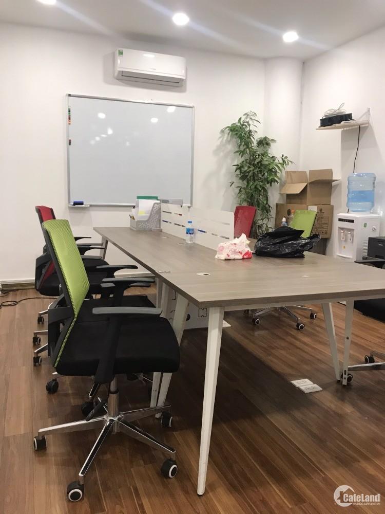 Cho thuê văn phòng 50m2 mặt phố Mai Anh Tuấn. đối diên hồ Hoàng Cầu, Đống Đa.
