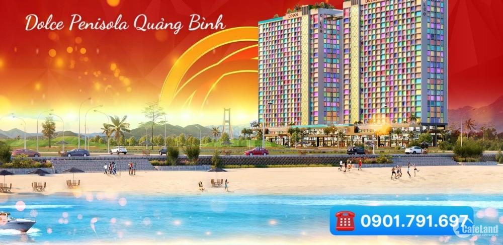 Sở hữu căn hộ 6 sao mặt biển Quảng Bình chỉ 790 triệu cho thuê 20 triệu/tháng