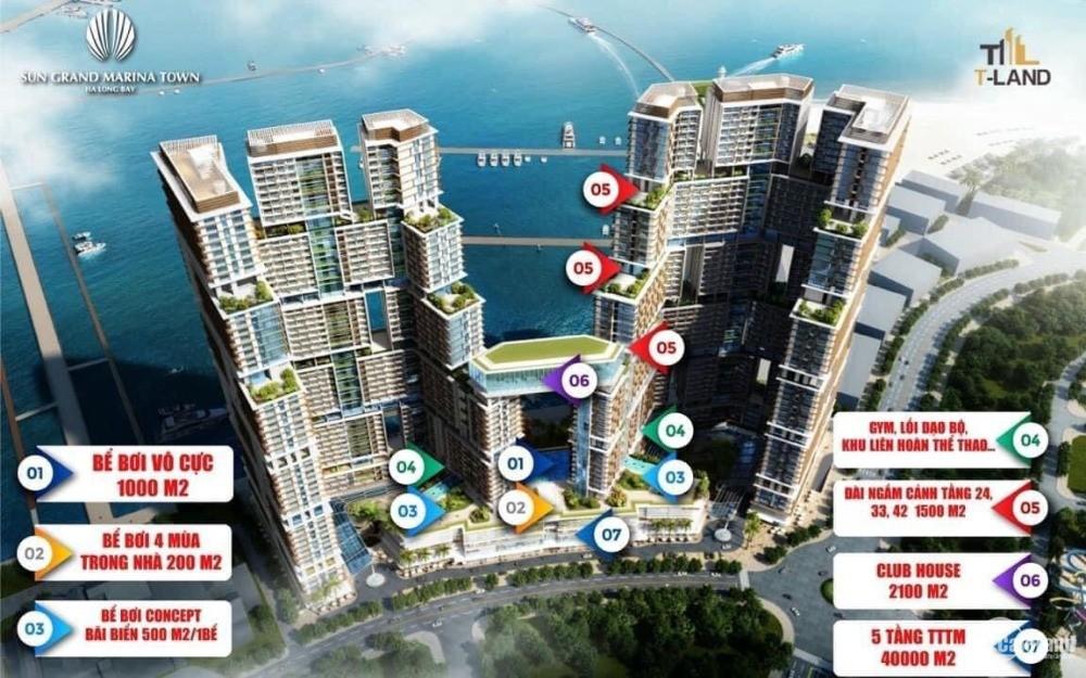 Bán căn hộ chung cư VIP Marina Hạ Long