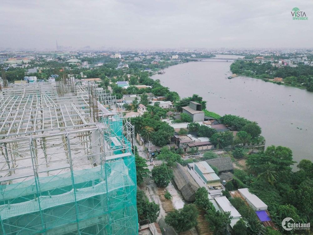 Khang hiếm căn hộ view sông 58m2 2pn giá 1tỷ470 hỗ trợ trả góp-ngay cầu phú long