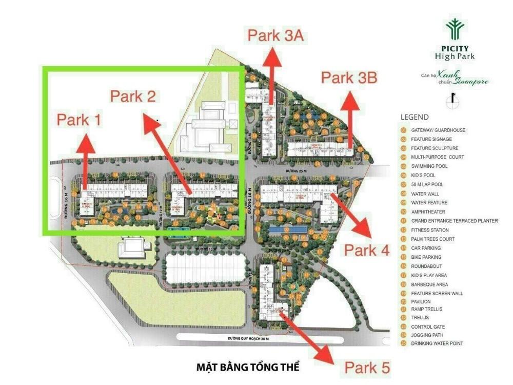 Mở bán block đẹp nhất cuối cùng dự án Picity Park quận 12 chỉ cần 650tr