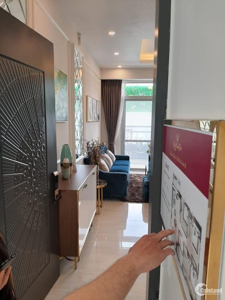 Paris Hoàng Kim chỉ từ 80tr/m2 gồm vat, đầy đủ tiện ích và dễ đến quận 1,4,7,...