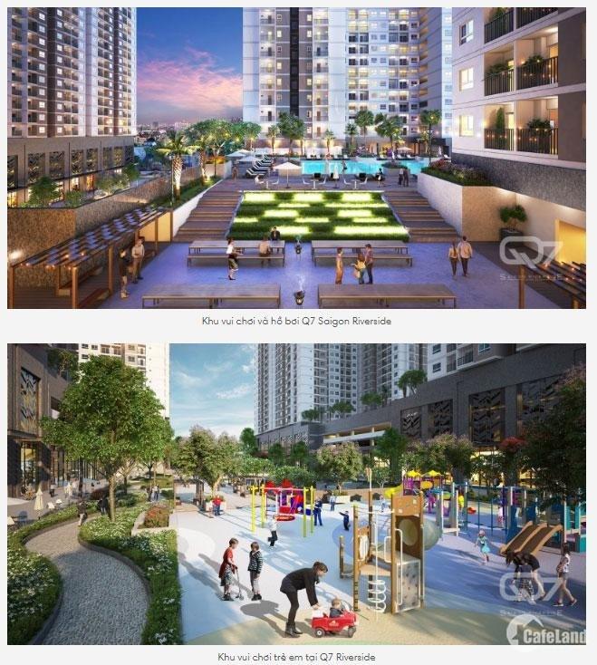 Căn hộ cao cấp Q7 Saigon -Ven sông, đường Đào Trí, chỉ từ 1,9 tỷ, CĐT Hưng Thịnh