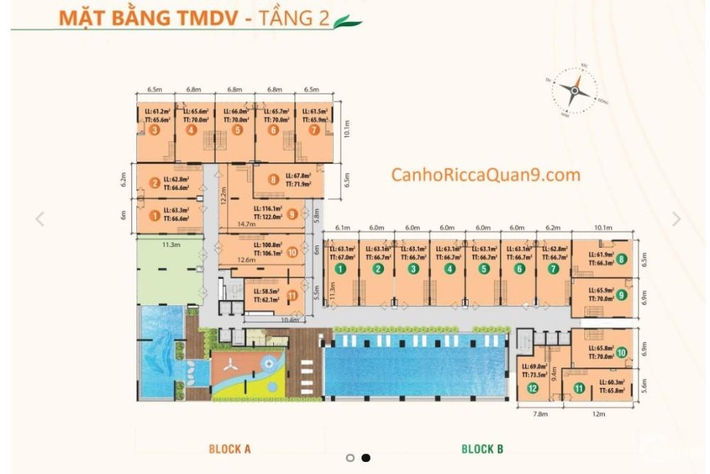 Cơ hội sinh lời cao, TMDV Ricca chỉ 37 triệu/m2, Phú Hữu Q9
