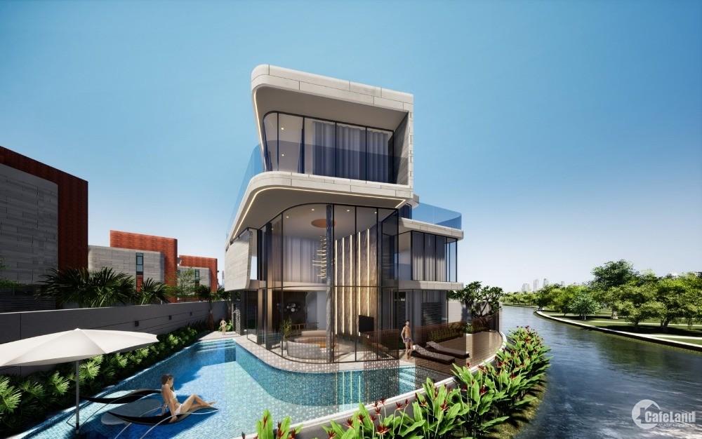 Suất Ngoại Giao Biệt Thự Full Bể Bơi , Sổ Đỏ Lâu Dài Cạnh The Ocean Villas ĐN