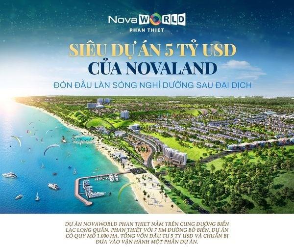 Chỉ 5.8 tỷ/căn Shophouse, Biệt thự NovaWorld Phan Thiết. Chiết khấu đến 1.5 tỷ