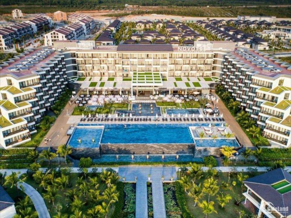 Suất ngoại giao biệt thự biển đã hiện hữu Novotel Phú Quốc, chia sẻ DT 85%.năm.