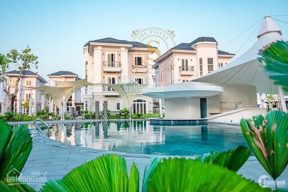 Bán Gấp Căn Biệt Thự SoL Villas  Cổ Điển Pháp 120m2 Phố Đông Giá Cực  Hời, SHR