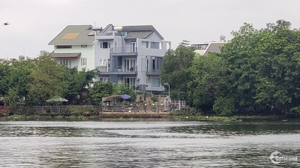 Bán biệt thự mặt tiền ven sông Sài Gòn thành phố Thủ Đ