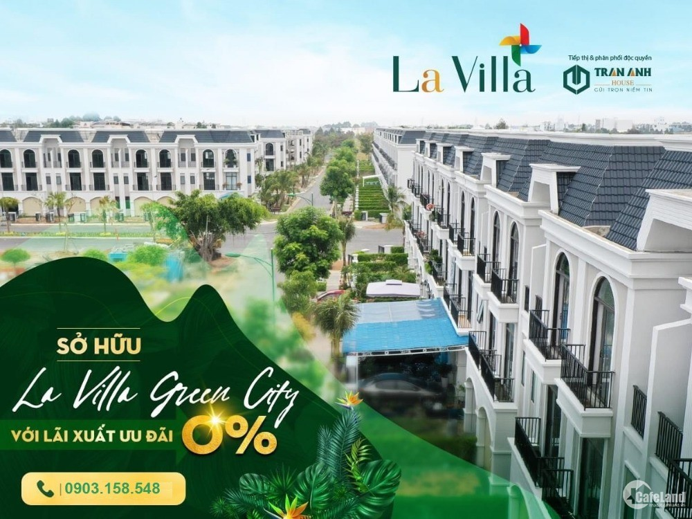 Nhận giá tốt nhất La Villa , suất bán nội bộ, ưu đãi vượt trội chủ đầu tư.