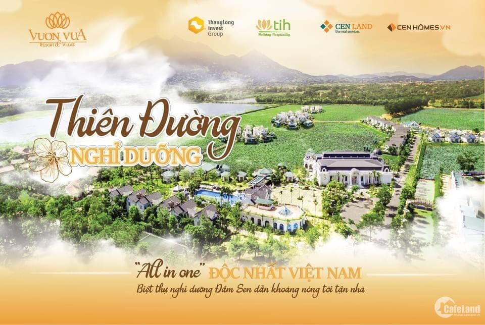 Bán Biệt thự Khoáng Nóng Vườn Vua Resort & Villas