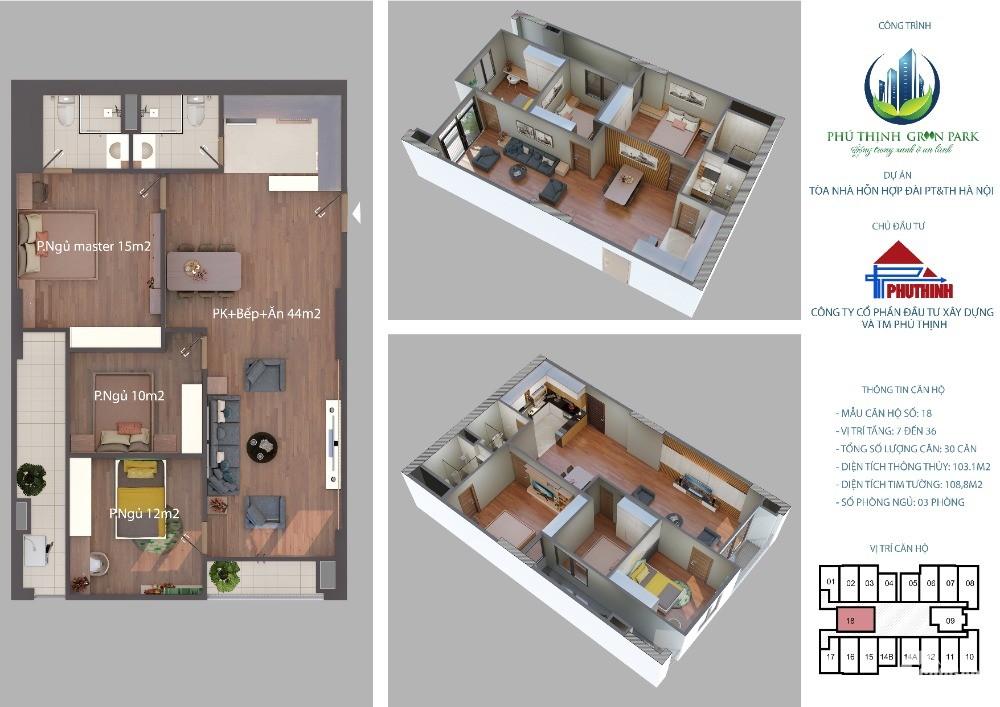 Mở suất bán căn hộ chung cư CH2-3, 6-7, 11-12, 15-16, CH18