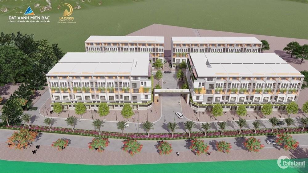 Bán nhà phố liền kề tại trung tâm TP Hạ Long giá chỉ 27tr/m2