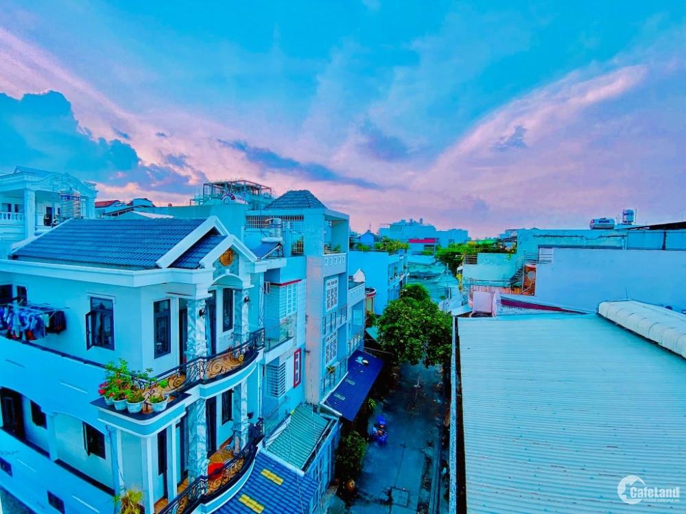 Hẻm xe hơi, chợ Tân Hương, quận Tân phú 65m2, giá 4 tỷ 65, bán nhà tặng đất.