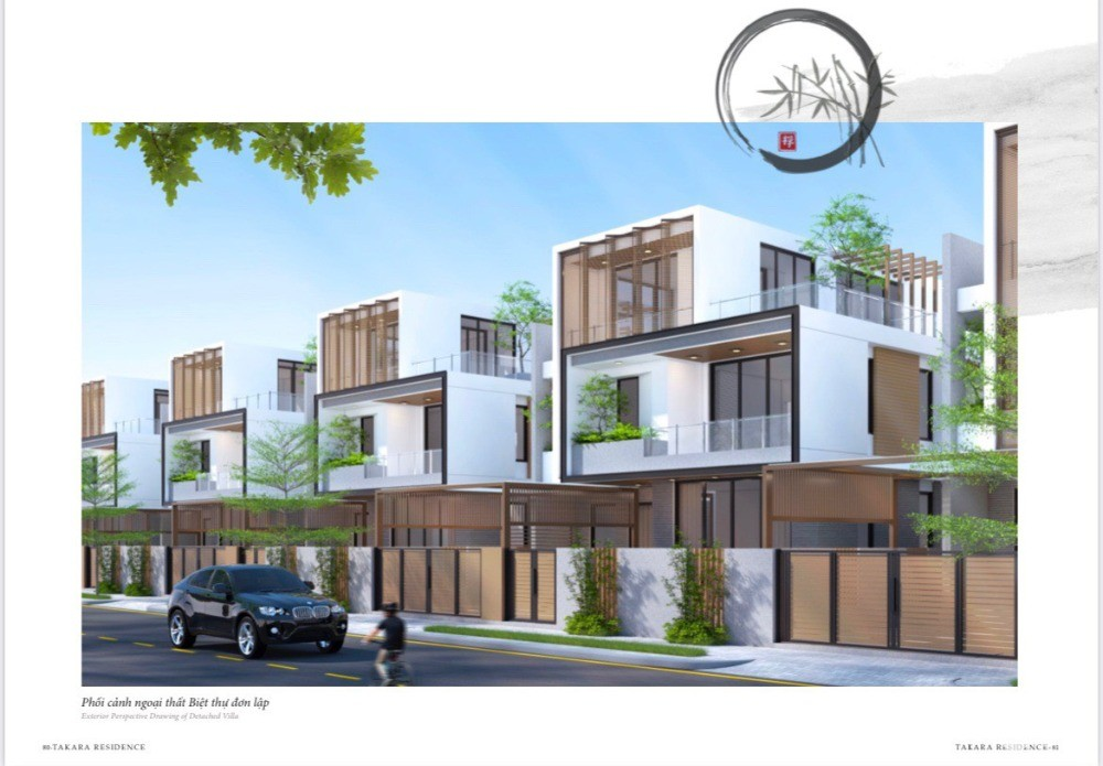 Mở bán 20 căn Biệt thự đơn lập Takara trung tâm Chánh Nghĩa, Thủ Dầu Một, BD.