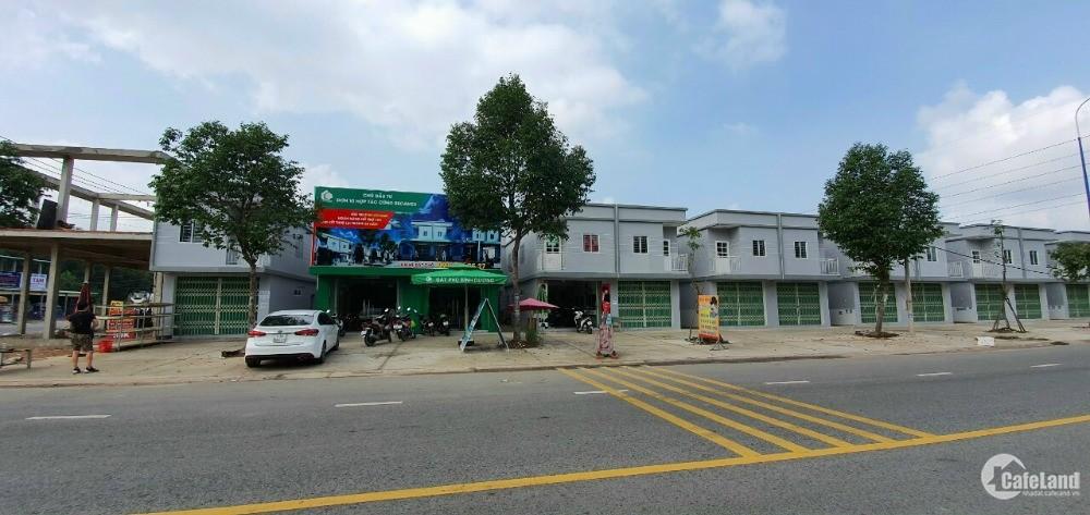 Bán dãi nhà trọ thương mại tại Bàu Bàng cho thuê 50 tr/năm
