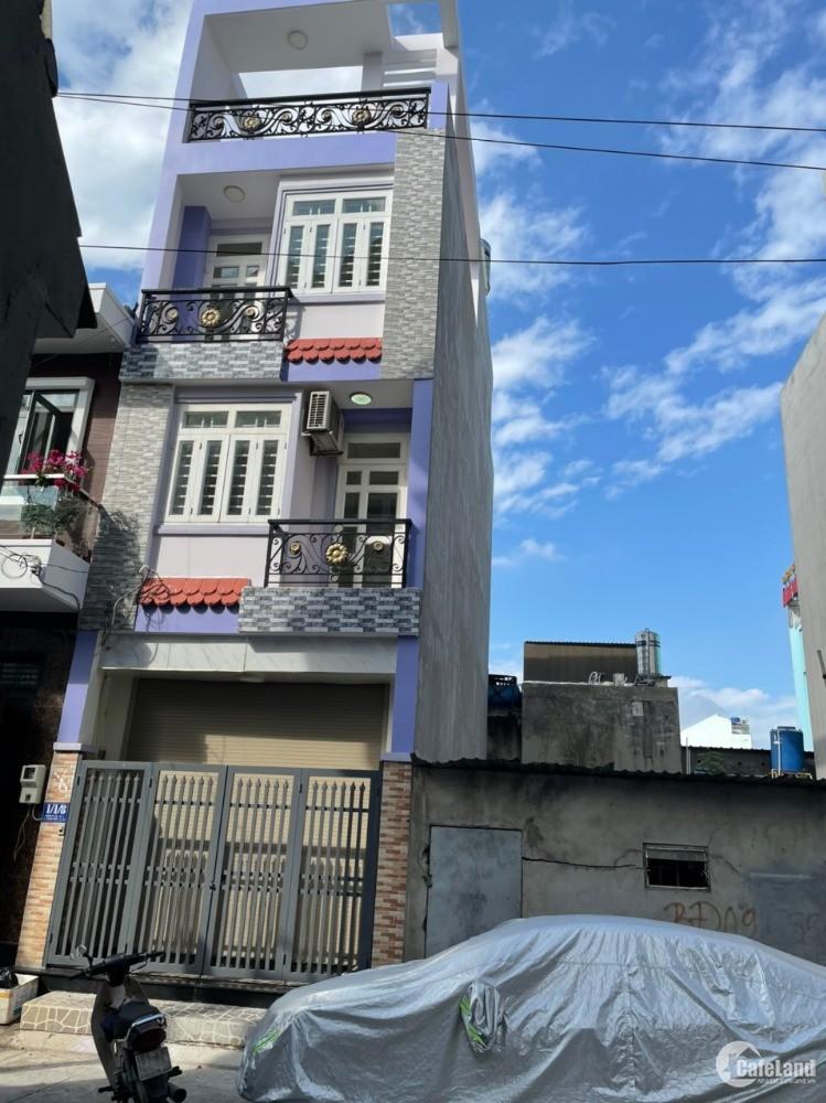 nhà ngay cao Đẳng Điện Lực, cách Hà Huy Giáp 100m, Quân 12