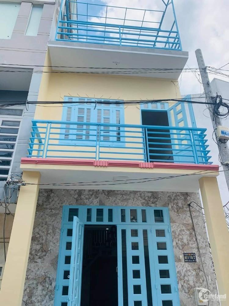 nhà 1 trệt 2 lầu, Quốc lộ 1A_P. Bình Hưng Hòa, Bình Tân