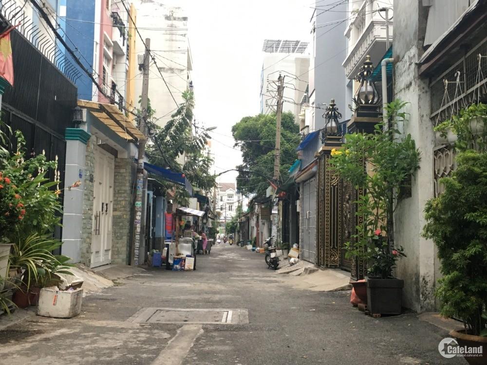 Bán GẤP nhà hẻm Phan Văn Trị, P5, Gò Vấp, 5x16m, 1 trệt, lửng, 5.35 tỷ