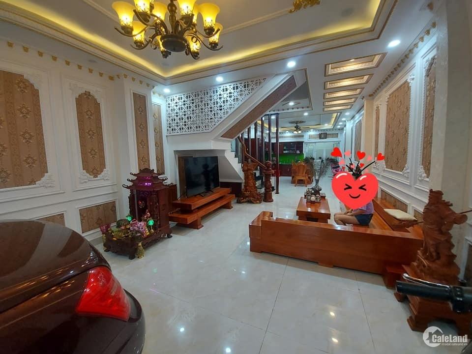 Bán nhà HXH 8m Nguyễn Thái Sơn 76m2(5x15), 5 tầng full nội thất, chỉ 6.9 tỷ TL