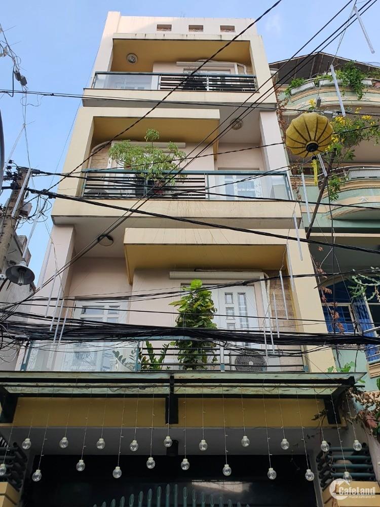 Bán gấp nhà tuyệt đẹp, 60m2, Hẻm 8m, Phạm Phú Thứ TB, 4x15x5 Tầng, 9.5tỷ. Ở ngay