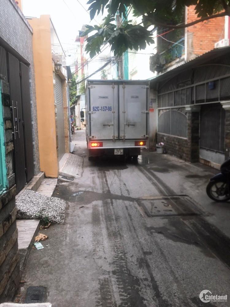 Hẻm xe hơi – Tân Quý, Tân Phú – 162M2 – Ngang 6m – 50tr/m2.
