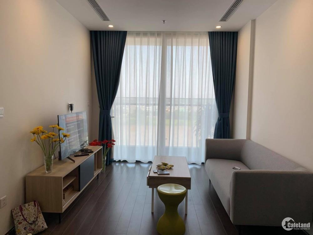 Cho thuê căn hộ 2 phòng ngủ view nội khu tại Symphony, Long Biên. Full nội thất