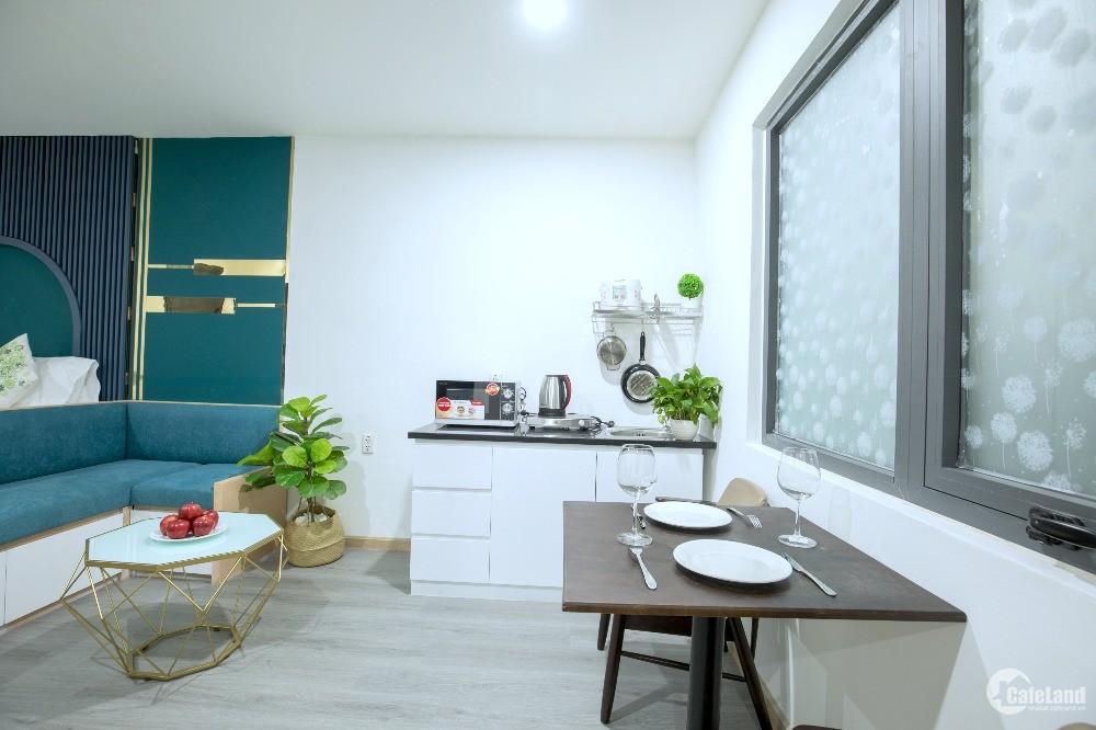 Căn hộ đủ nội thất giá rẻ đường Đặng Dung gần chợ Tân Định quận 1