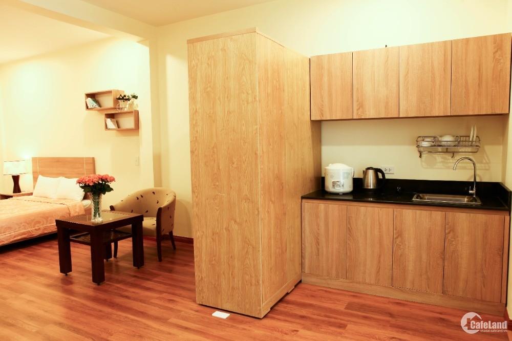 Cho thuê căn hộ dịch vụ NTMK Quận 1 45m2