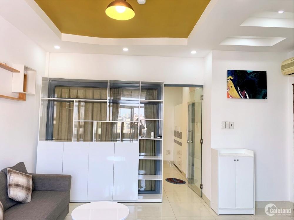 Cho thuê căn hộ 1 phòng ngủ full nội thất 40m2 đường Dương Bá Trạc Quận 8