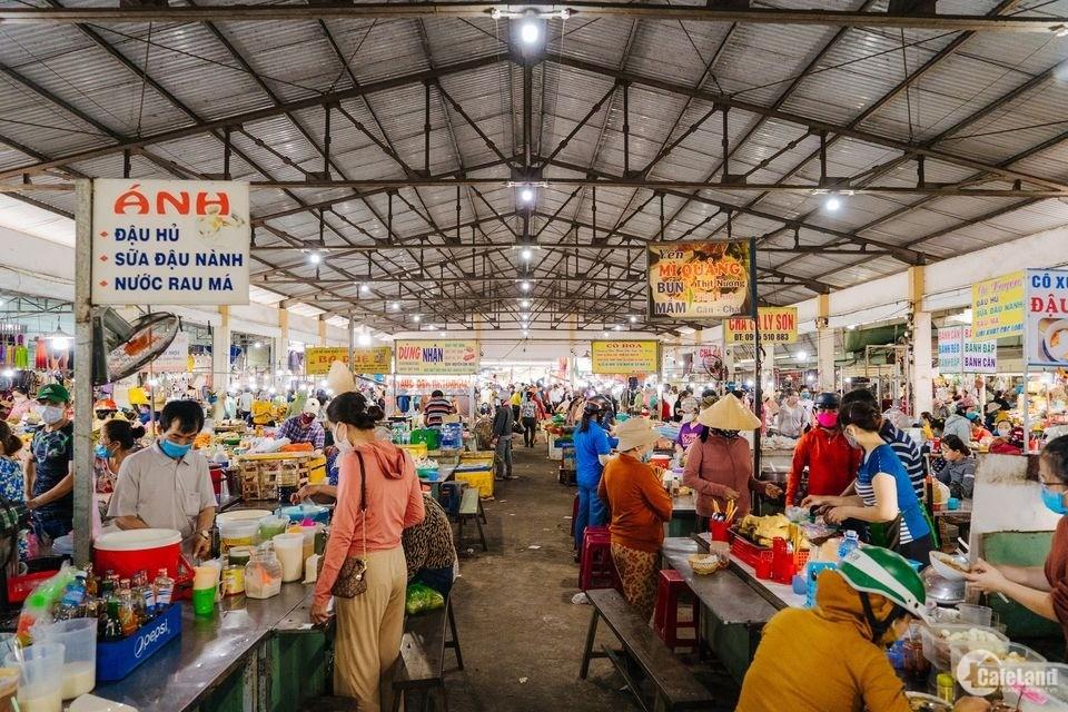 Đất chợ Điện Nam Trung Gần đường Võ Như Hưng, giá đầu tư, sổ đỏ trao tay