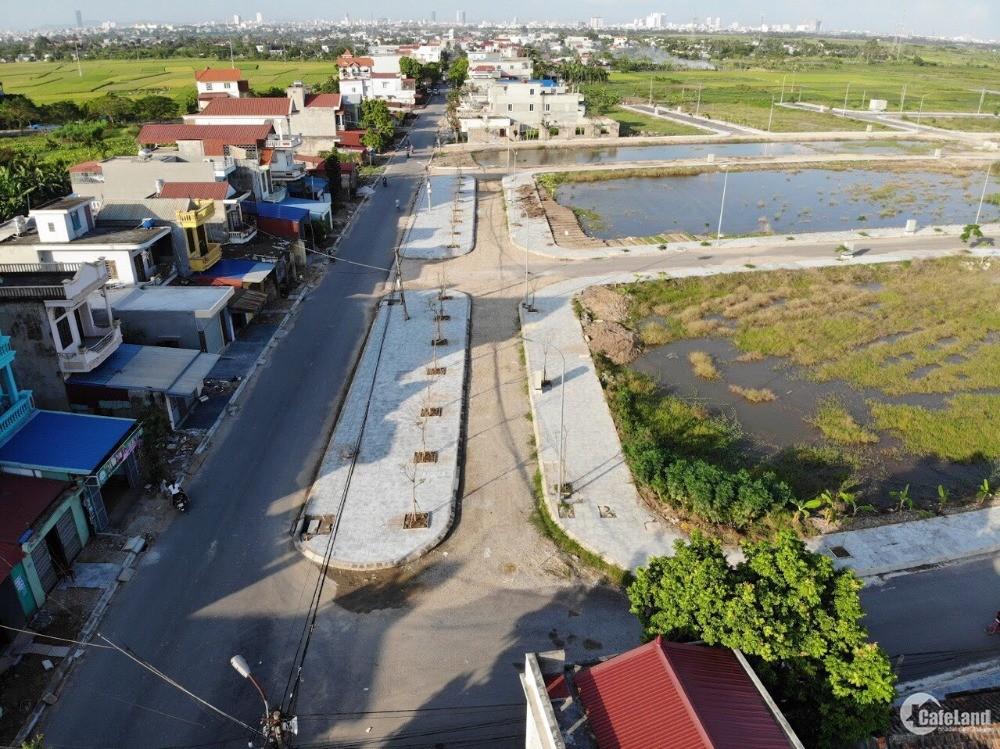 Đất sổ đỏ Đa Phúc mặt đường 35m đón đầu quy hoạch