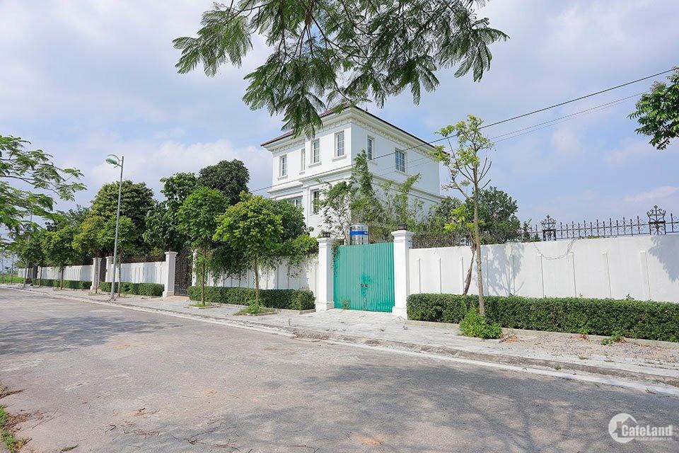 Biệt thự Cienco 5 Mê Linh đã có sổ đỏ, Gần hồ cảnh quan và công viên cây xanh...