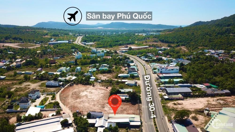 Chủ cần bán mảnh đất mặt tiền đường Dương Đông - An Thới TP Phú Quốc