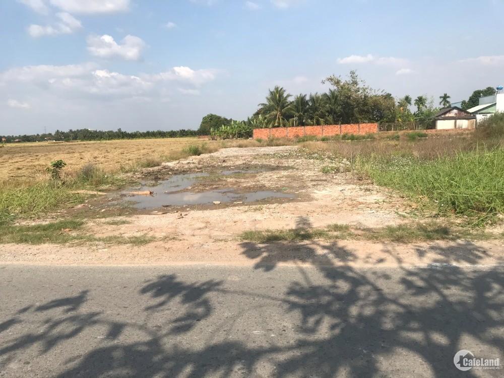 Cần bán thửa đất mặt tiền đường Đốc Tưa xã Nhựt Chánh  - Bến Lức -  Long An.