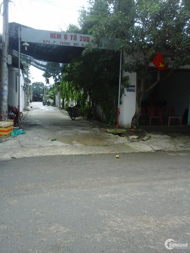 Đất sổ riêng 145m2 tại KP4, Trảng Dài, Biên Hòa, Đổng Nai