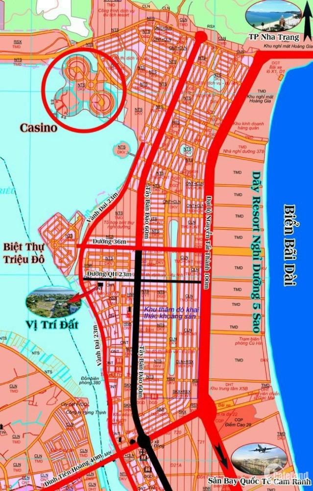 Bán đất cạnh Đầm Thủy Triều - sinh lợi cao, 3p ra biển - Xem video bên dưới