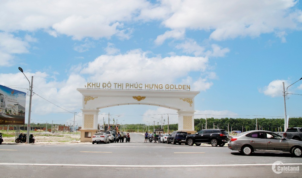DỰ ÁN PHÚC HƯNG GOLDEN - CHƠN THÀNH MỞ BÁN ĐỢT 1, GIÁ F0